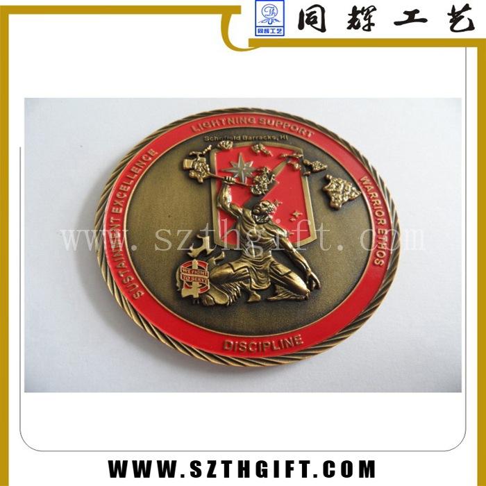 古青铜立体纪念币