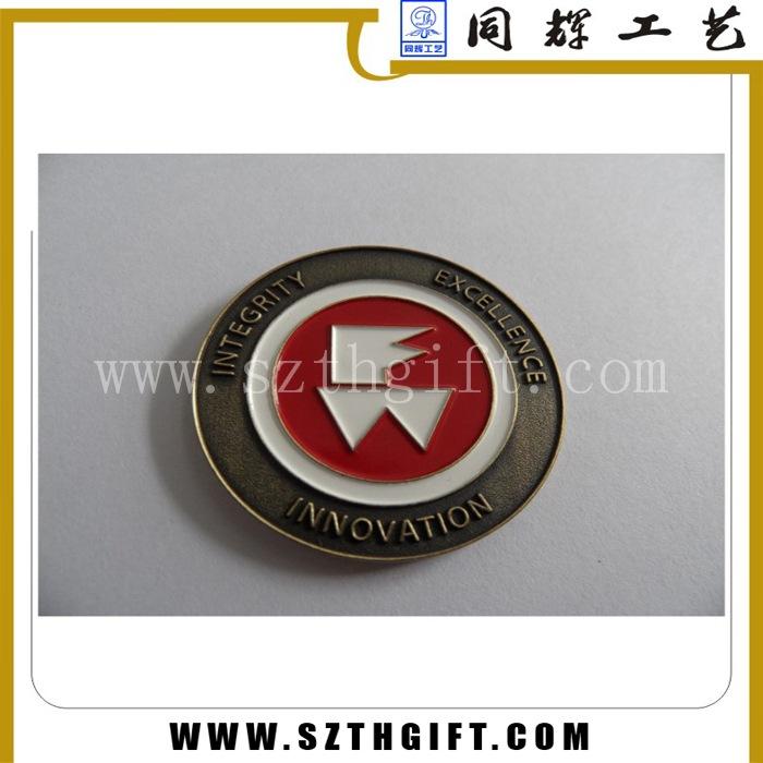 圆形纪念徽章