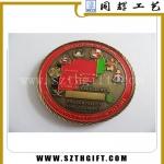 圆形烤漆纪念币