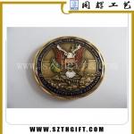 浮雕老鹰纪念币