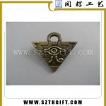 青古铜徽章