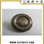 锌合金青古铜徽章