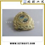 锌合金烤漆徽章